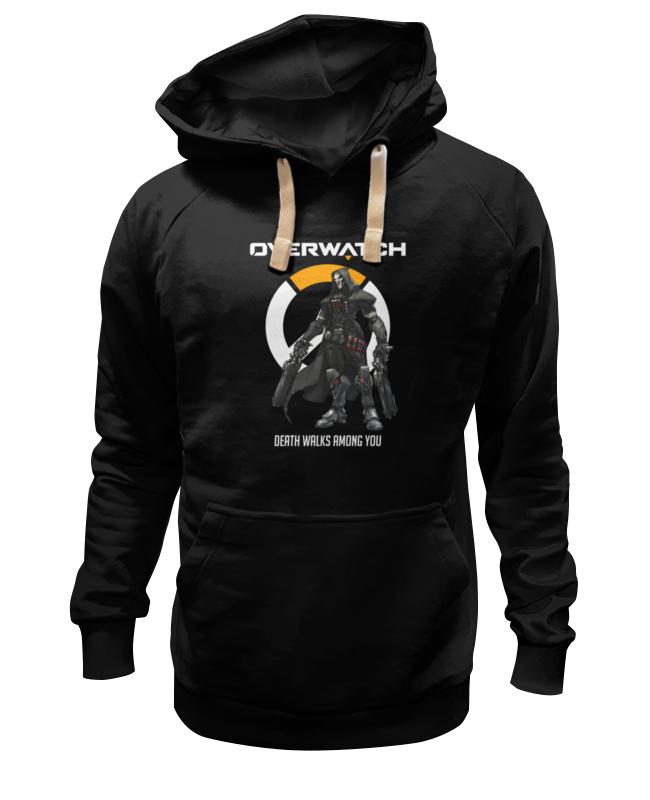 Толстовка Wearcraft Premium унисекс Printio Overwatch. жнец толстовка wearcraft premium унисекс printio overwatch ана