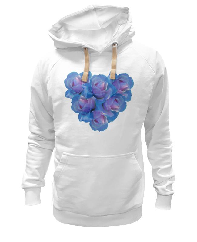 Толстовка Wearcraft Premium унисекс Printio Голубое сердце цена и фото