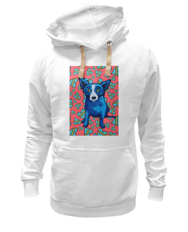 Толстовка Wearcraft Premium унисекс Printio Синий пес толстовка wearcraft premium унисекс printio уважаемый пес
