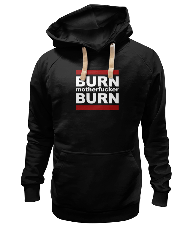 Толстовка Wearcraft Premium унисекс Printio Burn!
