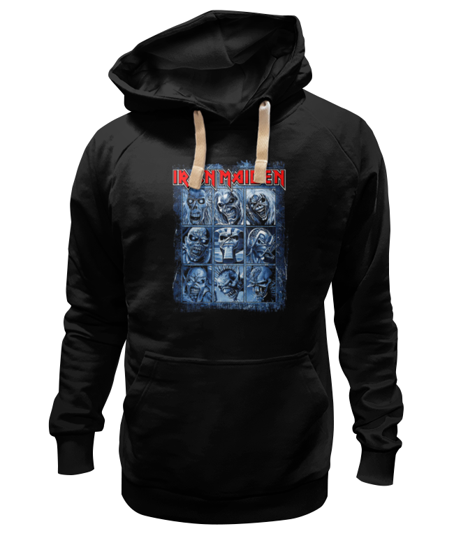 Толстовка Wearcraft Premium унисекс Printio Iron maiden band толстовка wearcraft premium унисекс printio kiss band