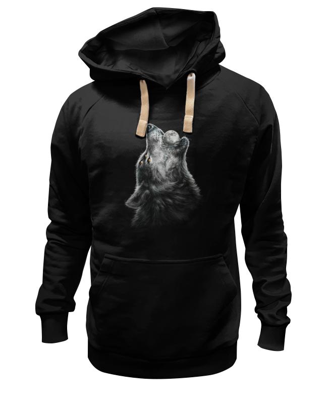 Толстовка Wearcraft Premium унисекс Printio Волк и луна футболка стрэйч printio волк и луна