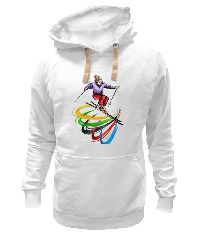 Printio Лыжница детская футболка классическая унисекс printio лыжница