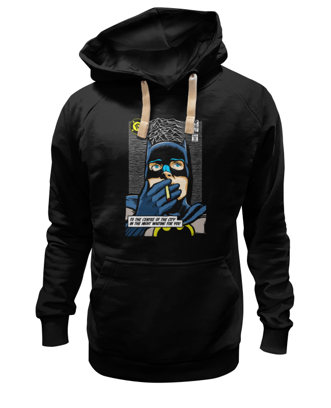 Толстовка Wearcraft Premium унисекс Printio Batman waiting for you футболка wearcraft premium printio batman waiting for you