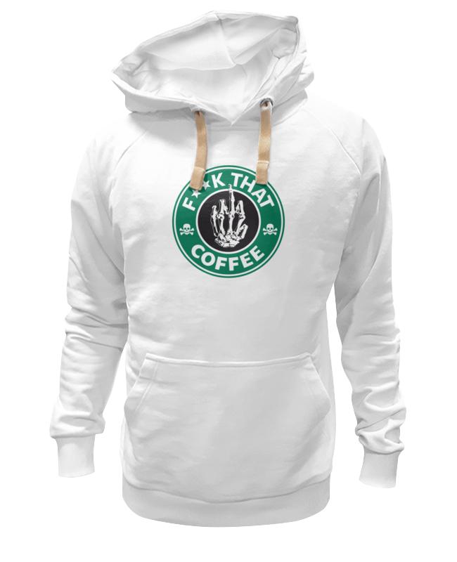 Толстовка Wearcraft Premium унисекс Printio Нах этот кофе (f**k that coffee) сумка printio нах этот кофе f k that coffee