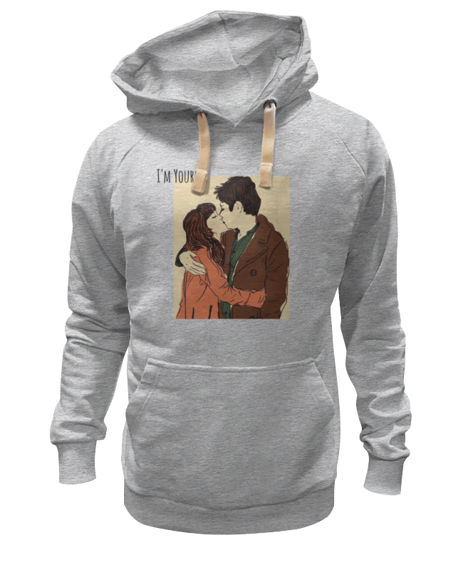Толстовка Wearcraft Premium унисекс Printio Love / i'm yours yours mine