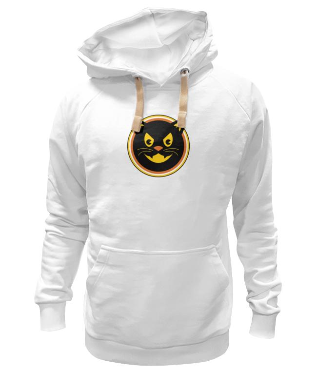 Толстовка Wearcraft Premium унисекс Printio Черный кот толстовка wearcraft premium унисекс printio черный арлекин