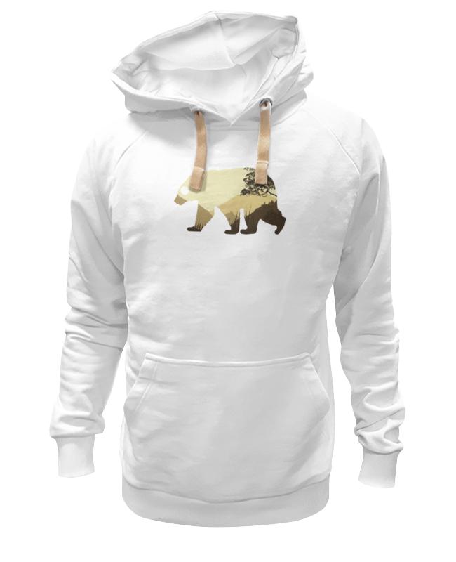 Толстовка Wearcraft Premium унисекс Printio Медведь толстовка wearcraft premium унисекс printio медведь 3d