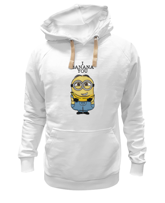 Printio I banana you толстовка wearcraft premium унисекс printio i banana you