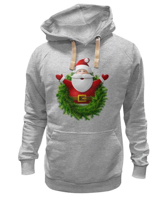 Толстовка Wearcraft Premium унисекс Printio Санта