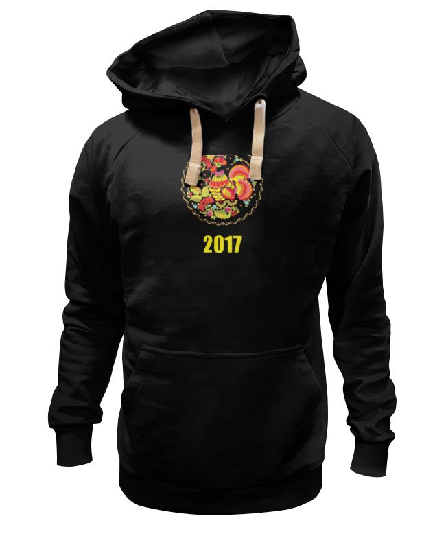 Толстовка Wearcraft Premium унисекс Printio 2017 - год красного петуха скальп петуха veniard chinese cock cape