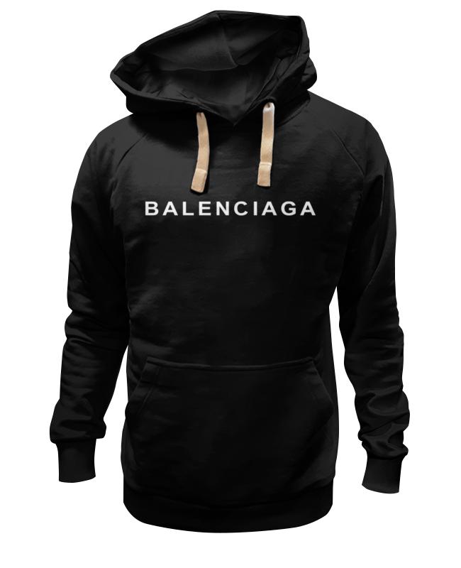 Толстовка Wearcraft Premium унисекс Printio Balenciaga logo бумажник balenciaga 253054