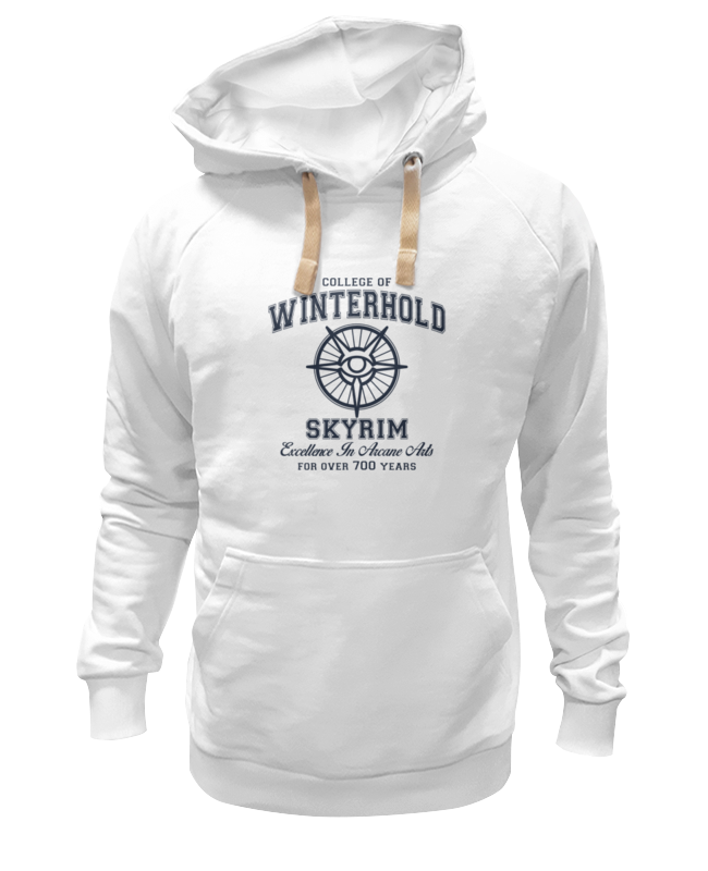 Толстовка Wearcraft Premium унисекс Printio Скайрим. college of winterhold игра софтклаб the elder scrolls iii morrowind game of the year edition