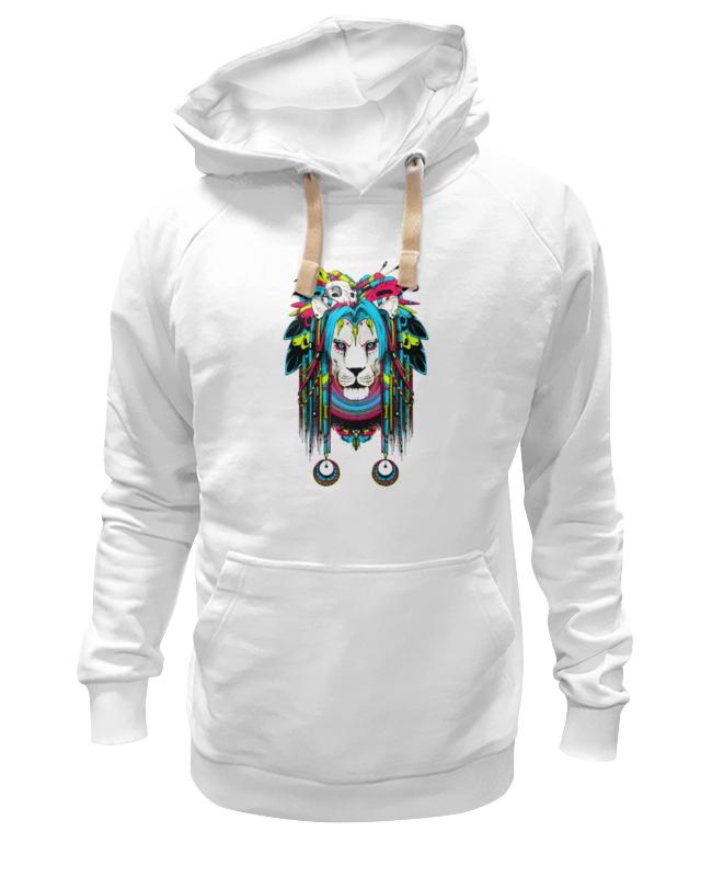 Толстовка Wearcraft Premium унисекс Printio Шаман-лев (ж) детская футболка классическая унисекс printio шаман лев ж