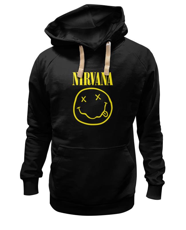 Толстовка Wearcraft Premium унисекс Printio Nirvana (нирвана)