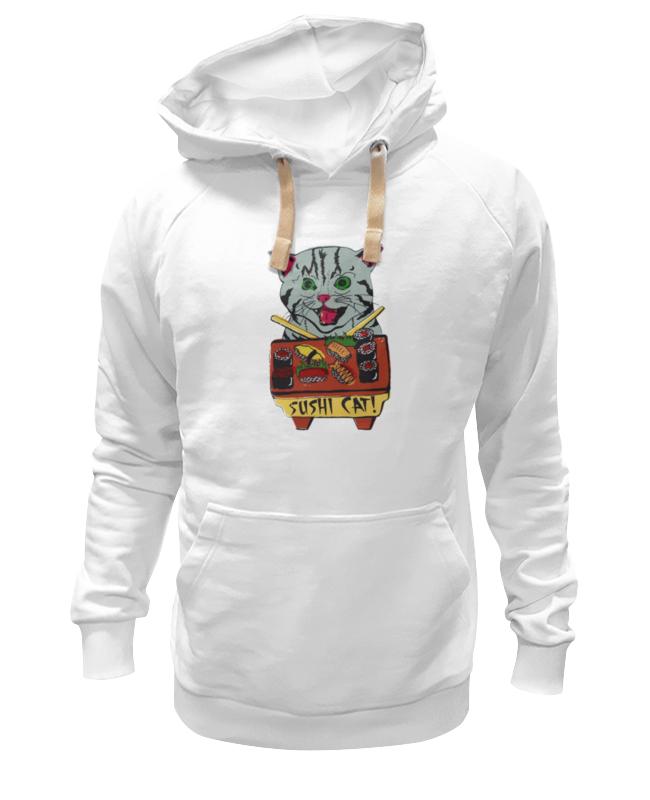 Толстовка Wearcraft Premium унисекс Printio Кот суши футболка wearcraft premium printio кот суши