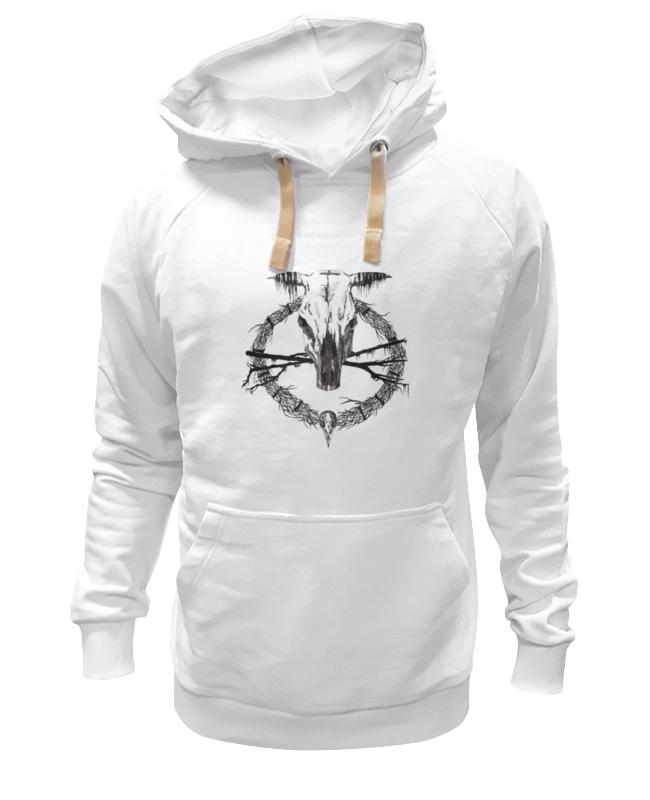 Толстовка Wearcraft Premium унисекс Printio Occult skull / оккультный череп толстовка wearcraft premium унисекс printio настоящий детектив
