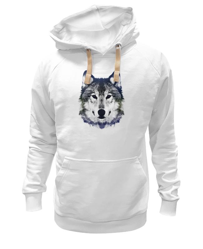 Толстовка Wearcraft Premium унисекс Printio Серый волк