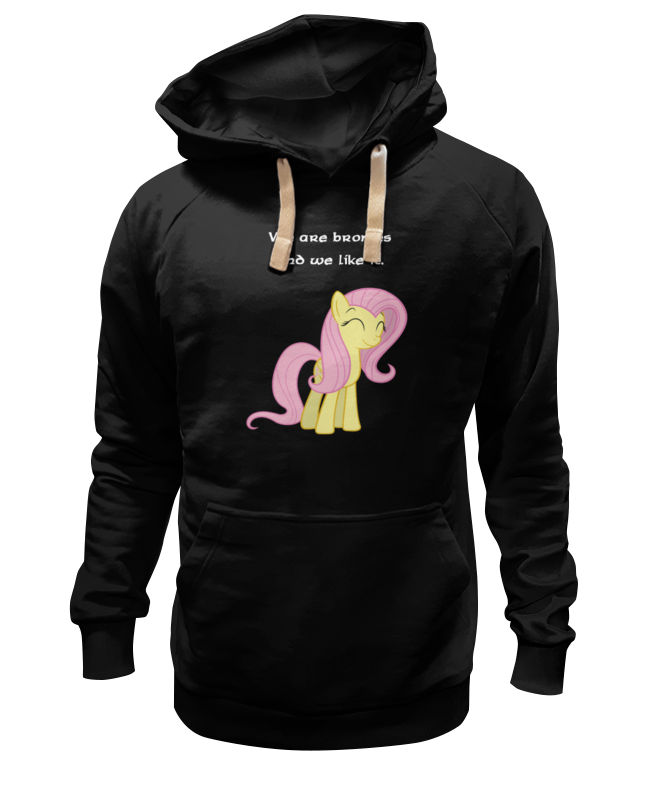Толстовка Wearcraft Premium унисекс Printio We are bronies and we like it.