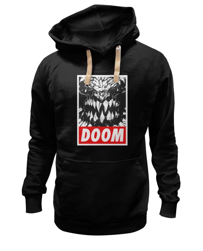 Толстовка Wearcraft Premium унисекс Printio Дум (doom) чехол для ноутбука 14 printio игра doom