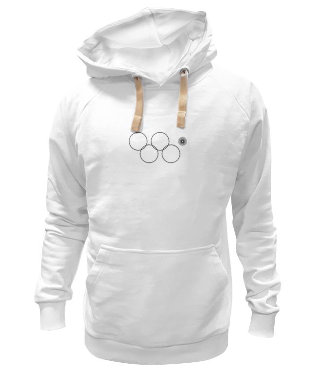 Толстовка Wearcraft Premium унисекс Printio Олимпийские кольца в сочи 2014 кольца