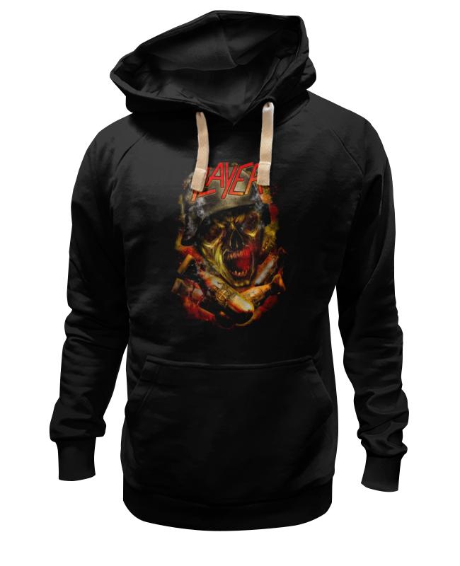 Толстовка Wearcraft Premium унисекс Printio Slayer thrash metal band толстовка wearcraft premium унисекс printio kiss band