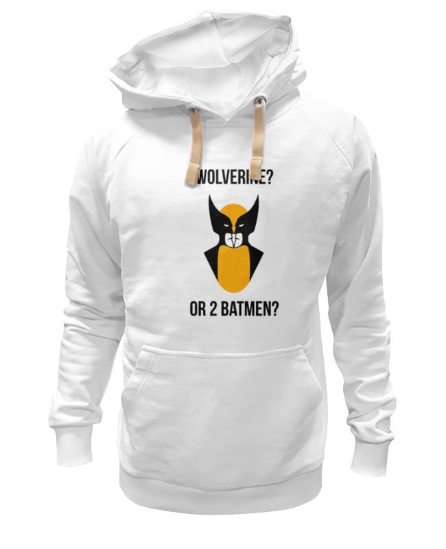 Толстовка Wearcraft Premium унисекс Printio Wolverine or batmen