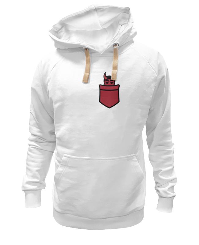 Толстовка Wearcraft Premium унисекс Printio Дьявол в кармане толстовка wearcraft premium унисекс printio дьявол
