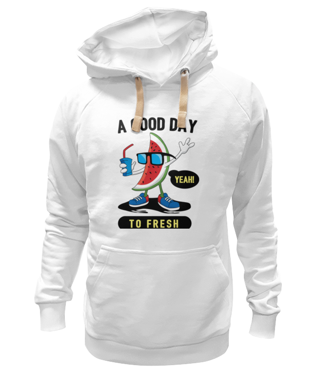 Толстовка Wearcraft Premium унисекс Printio A good day to fresh good day bad day easystarts cd rom