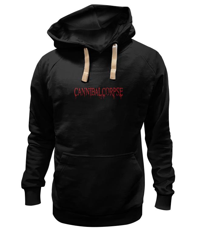 цена на Толстовка Wearcraft Premium унисекс Printio Cannibal corpse logo