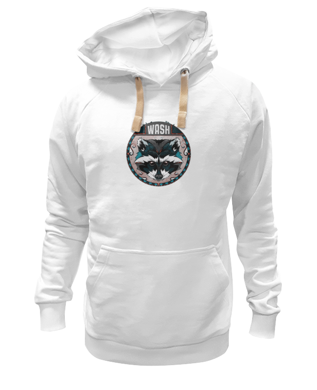 Толстовка Wearcraft Premium унисекс Printio Енот толстовка wearcraft premium унисекс printio енот sly cooper