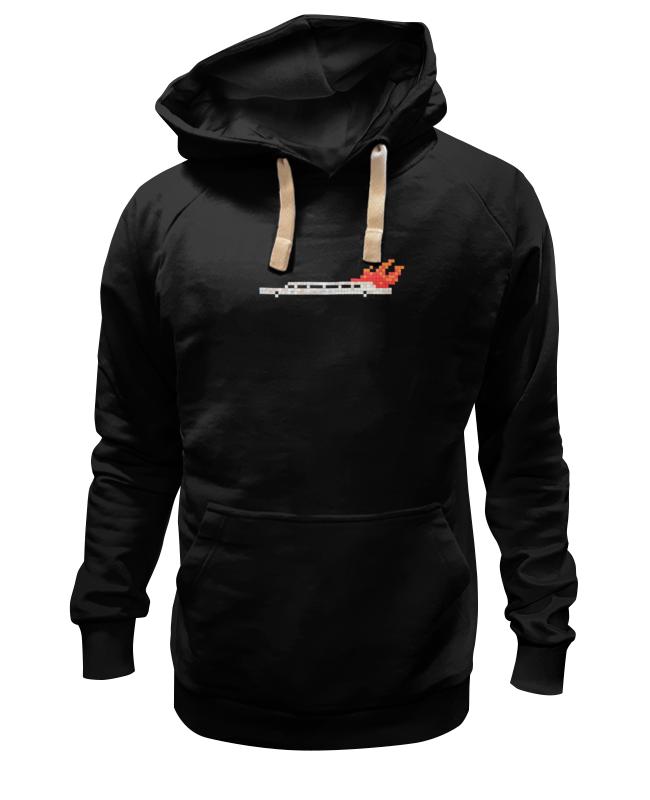 Толстовка Wearcraft Premium унисекс Printio Лимузин в огне