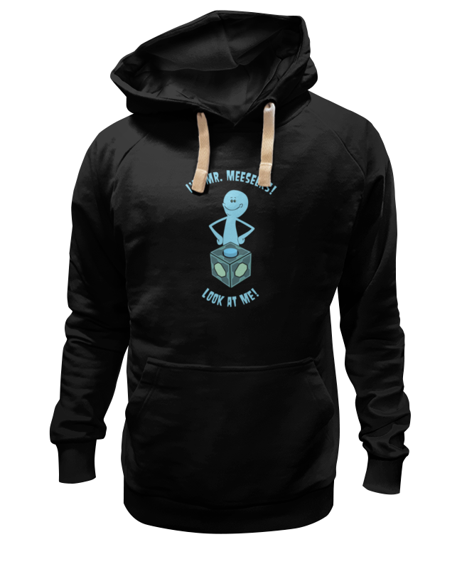 Толстовка Wearcraft Premium унисекс Printio Mr. meeseeks (rick and morty)
