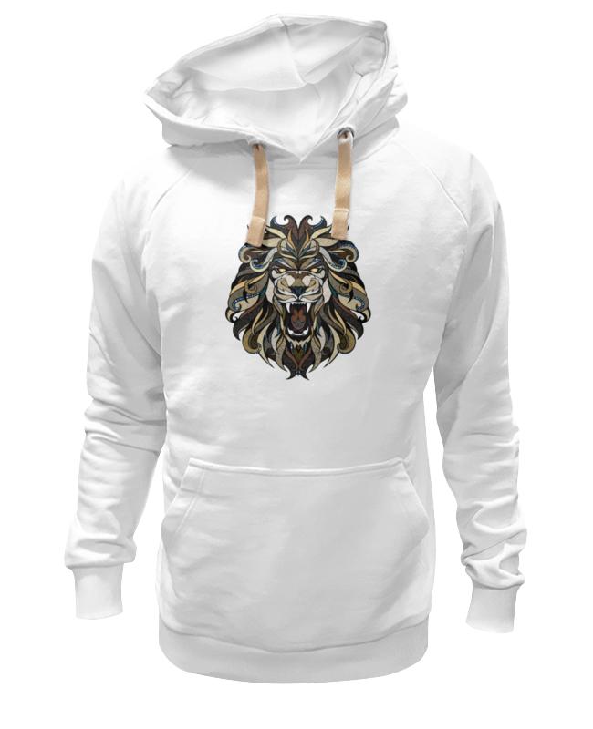 Толстовка Wearcraft Premium унисекс Printio Рычащий лев детская футболка классическая унисекс printio рычащий лев