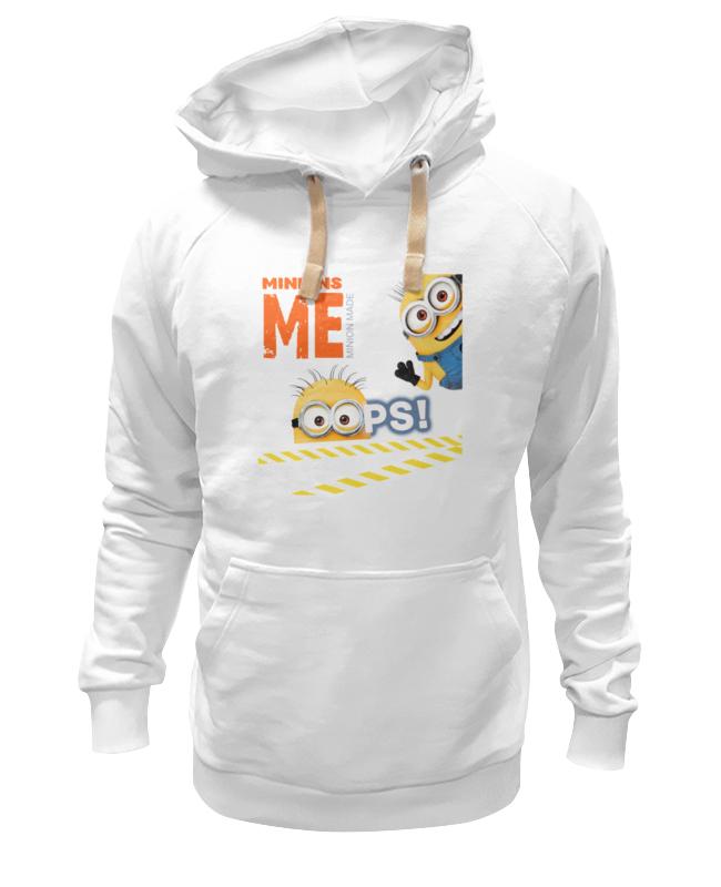 Толстовка Wearcraft Premium унисекс Printio Oops - миньоны футболка wearcraft premium slim fit printio oops миньоны