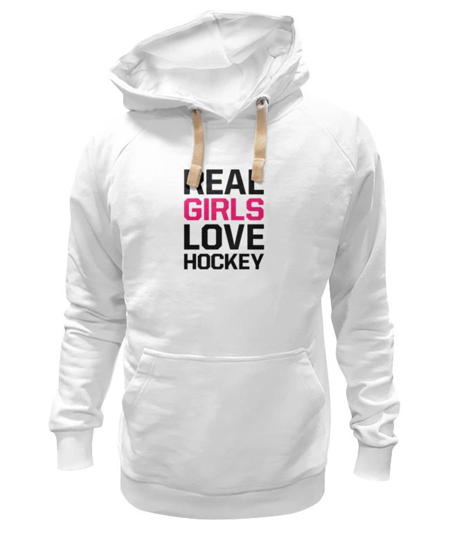 Толстовка Wearcraft Premium унисекс Printio Реальные девушки любят хоккей