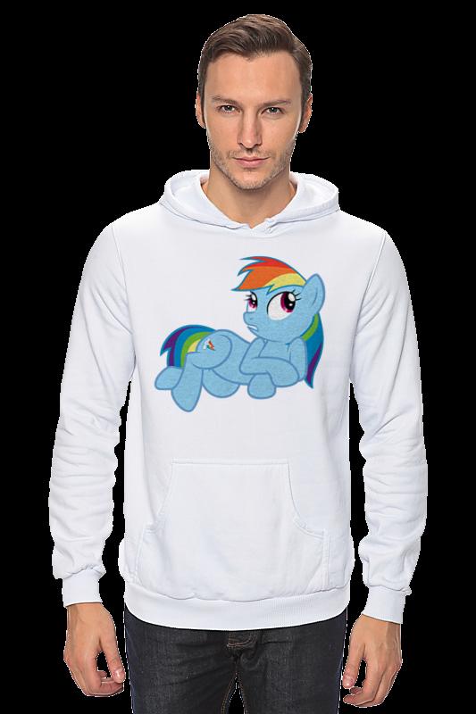 Толстовка Wearcraft Premium унисекс Printio Rainbow dash (my little pony) брелок ty my little pony rainbow dash 15 24 см