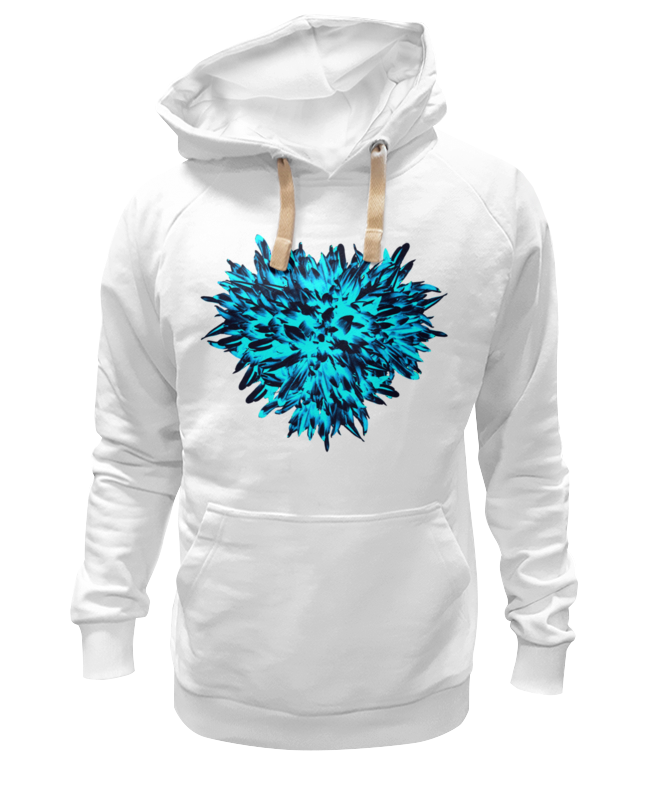 Толстовка Wearcraft Premium унисекс Printio Ледяной синий и и лажечников ледяной дом