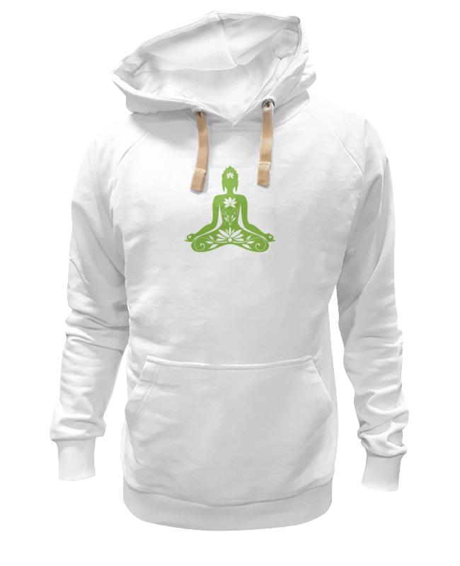 Толстовка Wearcraft Premium унисекс Printio Поза лотоса (йога)