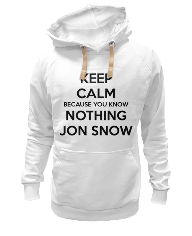 Толстовка Wearcraft Premium унисекс Printio Jon snow jon hopkins london