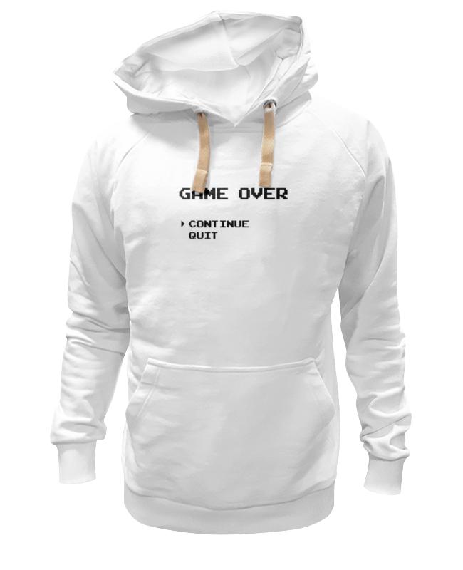 Printio Конец игры (game over) толстовка wearcraft premium унисекс printio конец мира