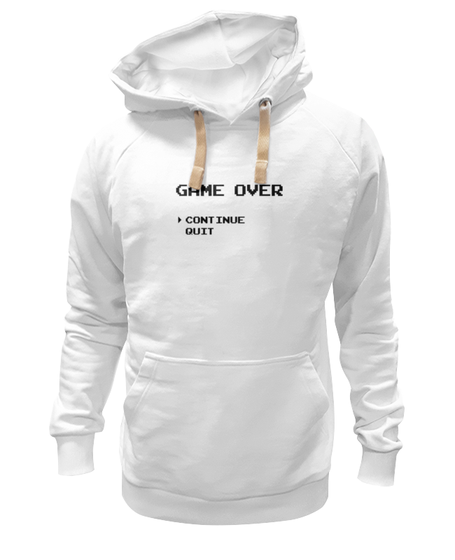 Толстовка Wearcraft Premium унисекс Printio Конец игры (game over)