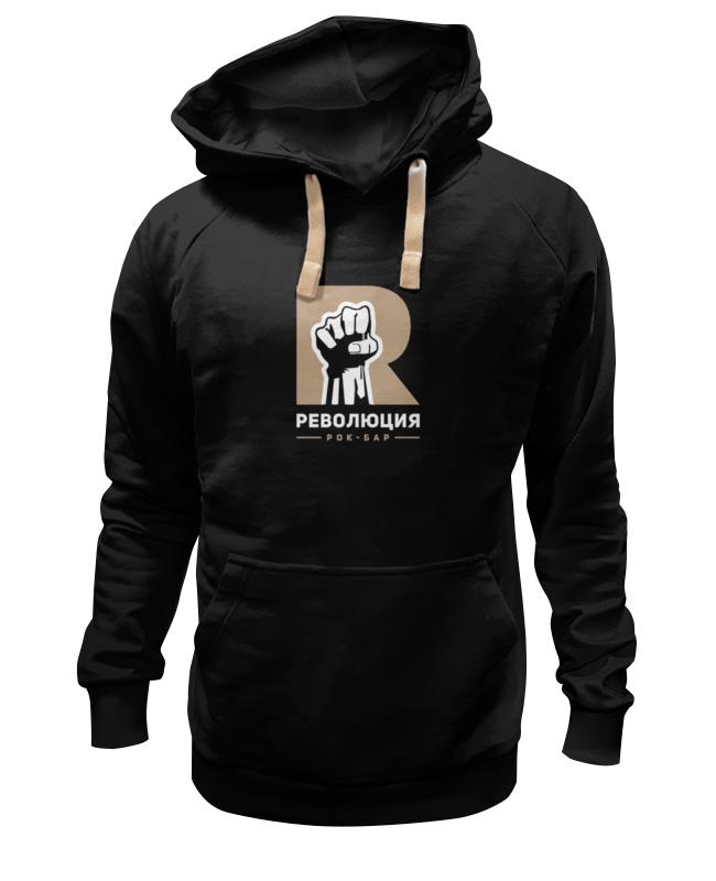 Толстовка Wearcraft Premium унисекс Printio Revolution hoodie black velvet drop shoulder hoodie with pocket