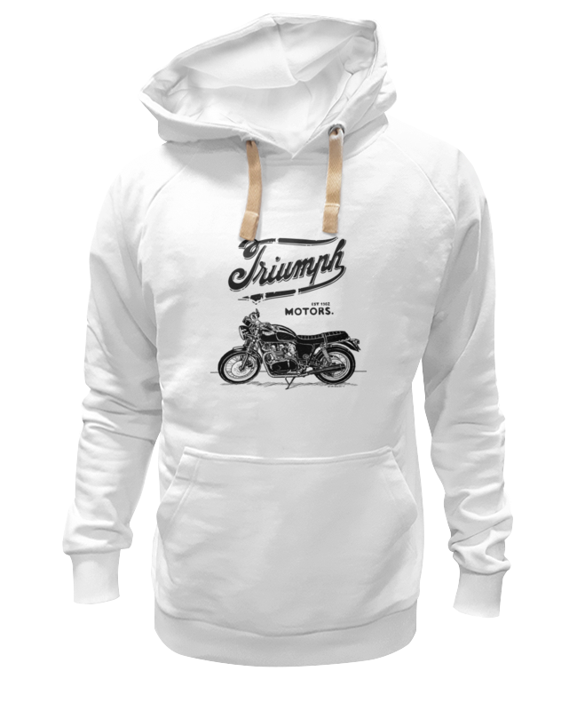Толстовка Wearcraft Premium унисекс Printio Triumph motorcycles футболка wearcraft premium slim fit printio triumph motorcycles