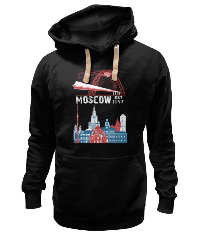 Толстовка Wearcraft Premium унисекс Printio Москва. moscow. establshed in 1147 (1) толстовка wearcraft premium унисекс printio москва