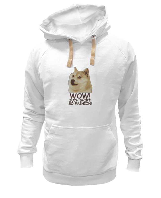 Printio Doge wow such shirt so fashion