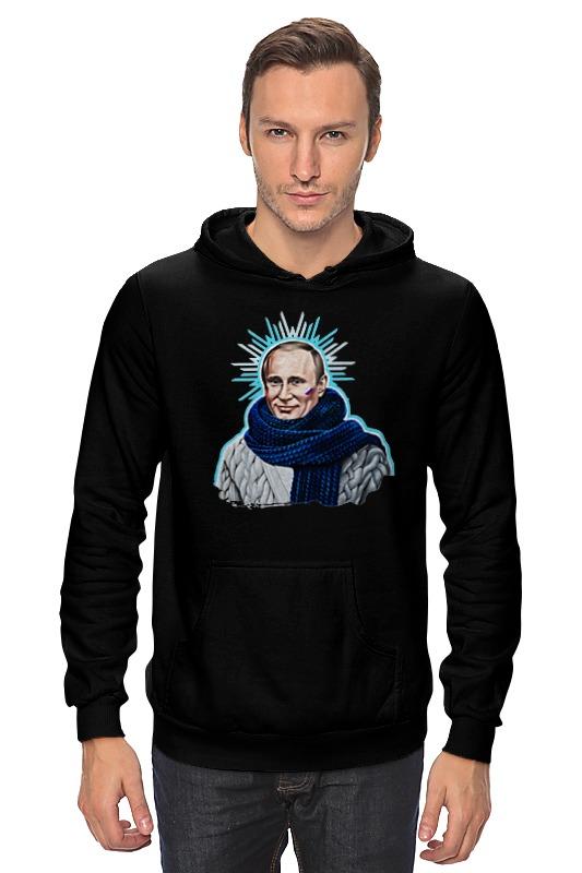 Толстовка Wearcraft Premium унисекс Printio Путин в шарфе как толстовку с путиным новая коллекция