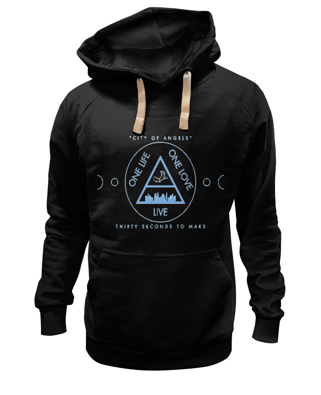 Толстовка Wearcraft Premium унисекс Printio City of angels - 30 seconds to mars