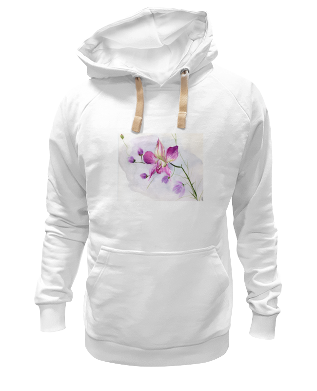 Толстовка Wearcraft Premium унисекс Printio Розовая орхидея