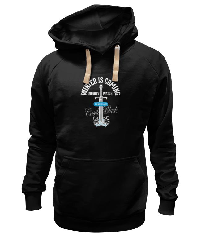 Толстовка Wearcraft Premium унисекс Printio Winter is coming (game of thrones) три вороньи крылья игра престолов direwolf ghost house of stark winter coming куртка толстовка толстовка